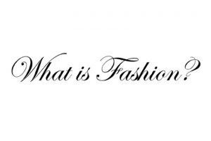 What is Fashion - LogoLR